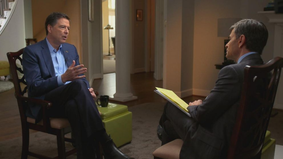 Five Takeaways From James Comey's ABC Interview